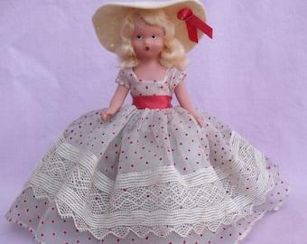 N-2471 BREEZY MARCH 189 Nancy Ann Storybook Doll Bisque