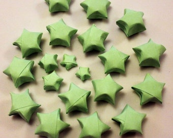 25 Origami Lucky Stars
