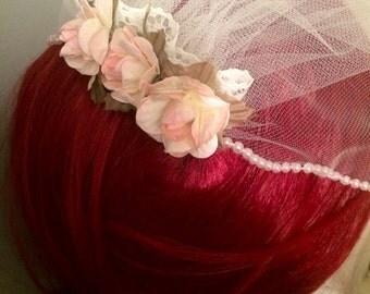 CLEARANCE Sweet Rose Veil