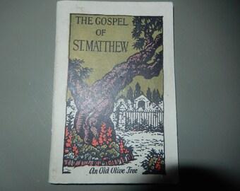 The Gospel of St. Matthew Booklet