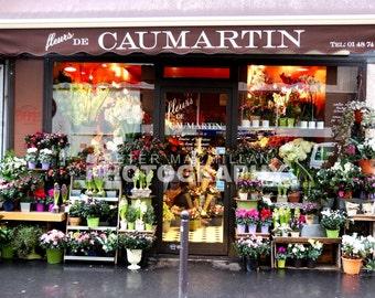 Gorgeous Colourful Florist Shop WIndow - Paris