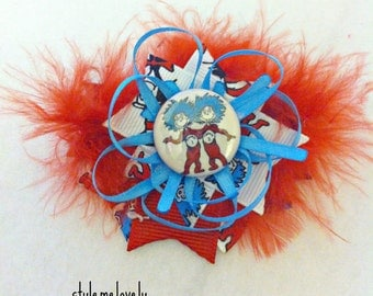 Thing 1, Thing 2 Baby Girl Hair Clip