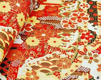 Japanese Origami Chiyogami (Yuzen) Paper x 10 pcs ( 5 patterns & colors)