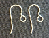 Sterling silver ear wires x 1 pair
