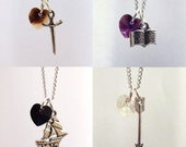 Character Charm Necklace A Time Character Necklaces