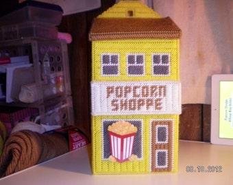 Popcorn Village Bag Holder