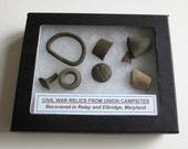 Grouping of Original Civil War Relics from Maryland 2