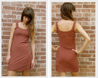 Simple Tank Dress Soft Jersey Knit in Lots of Colors