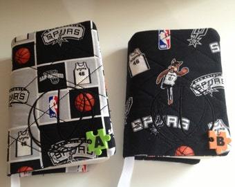 San Antonio Spurs Inspired Paperback Book Cover