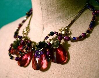 Violet Mists Necklace