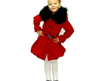 Winter Cashmere Kids Coat Hemi