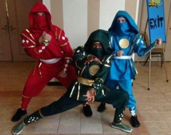 Improved Mighty Morphin Power Rangers
