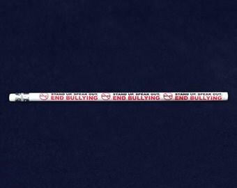 Speak Out End Bullying Pencils (50 Pencils) (PENC-BUR)