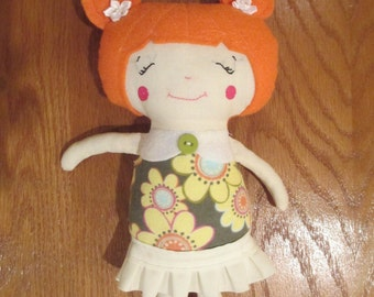 CHRISSY Handmade Cloth doll, plush doll, soft doll