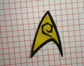 Star Trek Engineering Embroidered Iron On Patch