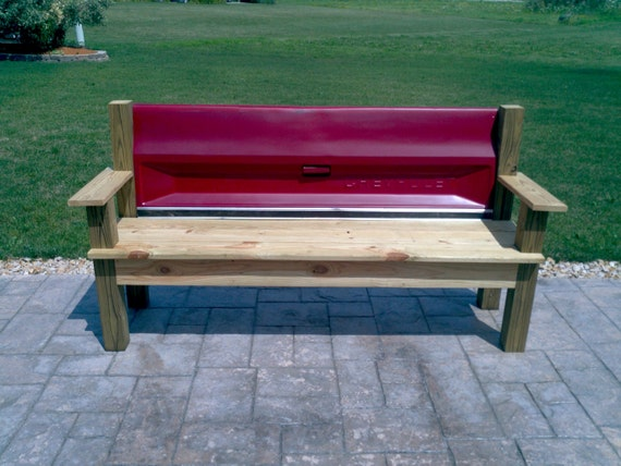 how to make bench set for a pickup