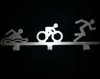 Triathlon Medal Hanger