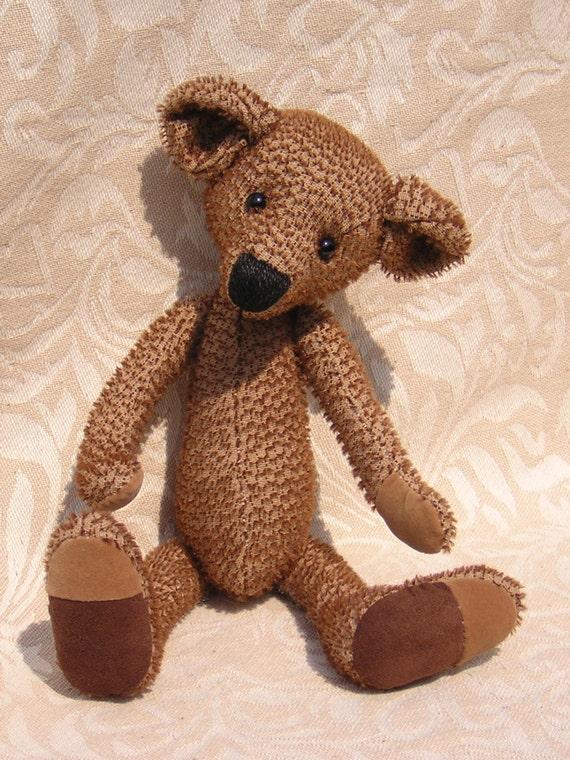 Teddy Bear Sewing PDF Pattern by BresBears on Etsy