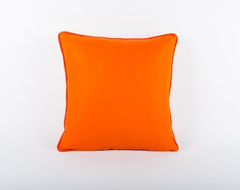 Orange Scatter Cushion Cover