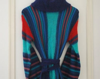 Colourful striped tunic