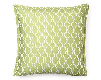 """Link 18"""" Spring Reversible to back Outdoor Pillow"""