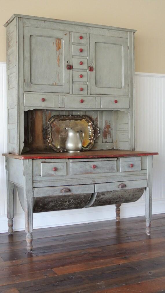 Items similar to Possum Belly Hutch circa 1860 on Etsy - photo#15