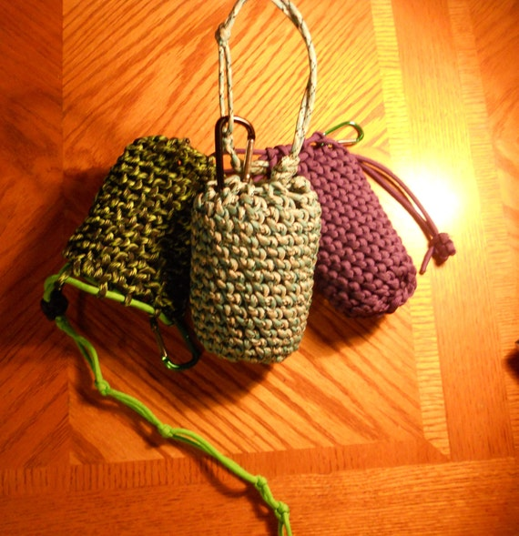 550 Paracord Drawstring pouch/bag Handmade to order Choose
