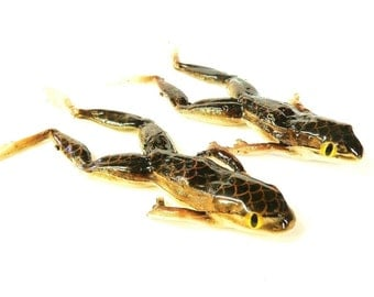 Bogbaits Rattle Snake Frog Realistic Topwater Bass Pike Lure Handmade Frog Bait Glass Rattle Inside