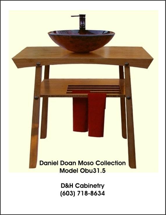 Items Similar To 31 Modern Bamboo Bathroom Vanity Baltimore Md Charlotte Nc Fort