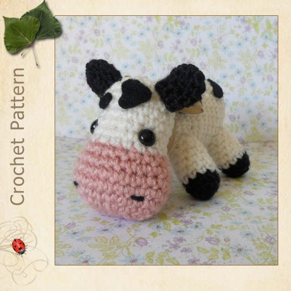 Amigurumi Crochet Pattern Cow : Unavailable Listing on Etsy