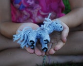 mini crochet toy horses
