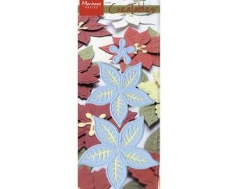 Marianne Designs Creatables Die ~ Poinsettia With Veins ~