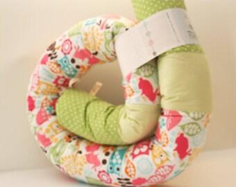Baby bed bumper - Nona'Snakes Urban Zoo