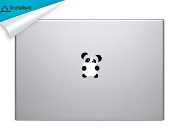 Panda, Panda Decal,Cute Panda,Vinyl Panda, Mac Decal, Mac Decal Panda, Cute Panda Mac,Panda Macbook,Panda Decal,Gift Under, PROMO