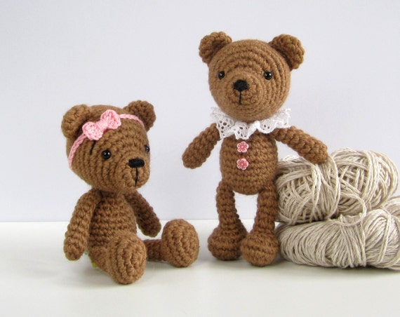 Amigurumi Little Teddy Bear : PATTERN: Small teddy bear Amigurumi teddy bear pattern