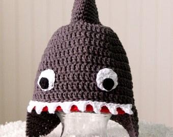 Teen/Adult Shark Hat