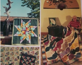 Fans Galore for Modern Quilters by Betty Boyink - Quilting Patterns - Staple Binding, 70 Pages, Multiple Projects, Full Instructions 1987