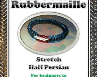 Stretch Half Persian Chainmaille Tutorial