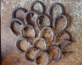 This Listing is for ONE Old Rusty Lucky Horseshoe/Vintage/Western Decor/Cowboy