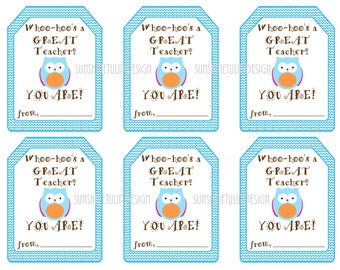 Printable teacher appreciation gift tags teacher first aid diy printable teacher appreciation tags by sunshinetulipdesign negle Images