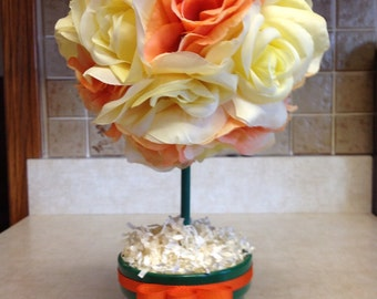 Topiary, Floral Topiary, Spring Topiary, Handmade Spring Topiary, Mothers Day Gifts