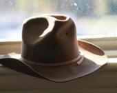 Vintage Dynafelt Brown Cowboy Hat - Earthling42