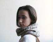 Oatmeal scarf /  Pure wool / Rustic fashion / Winter accessories unisex / winter scarf
