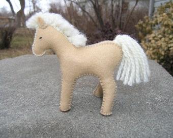 Baby Horse, Horse, Pony, Felt Horse