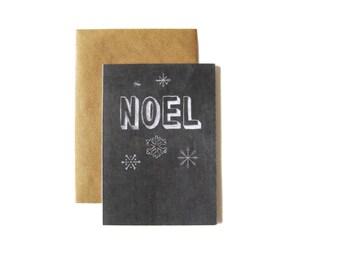 Noel Chalkboard Card
