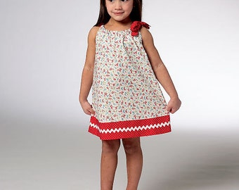 Sewing Pattern - Toddler Pattern, Girls Pattern, Dress Pattern, Tunic Pattern -  #K3934
