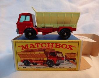Matchbox Grit Spreading Truck (#70)