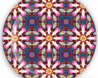 Plate, Melamine Plate, Decorative Plate, Plastic Plate - Whimsical No. 3
