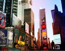 New York photography Times Square photography New York wall art New York decor Times Square art print New York wall decor TIMES SQUARE