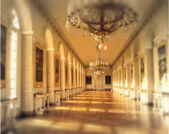 Versailles photography versailles home decor versailles art print versailles art photography gold versailles photo gold home decor GILDED